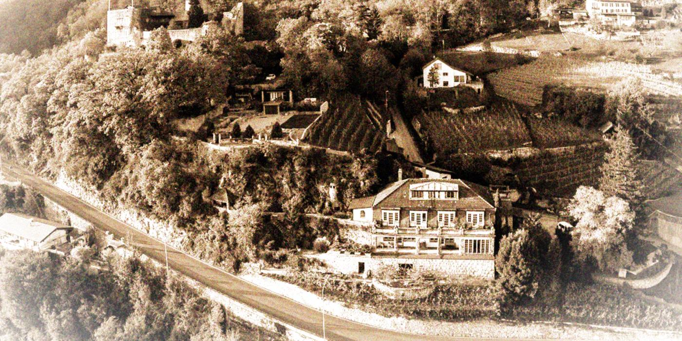 Domaine de Chante-Merle sous les murs du château du Schlossberg à Ls Neuveville
